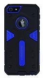 Motomo iPhone SE / 5 / 5S Ultra Koruma Lacivert Kılıf