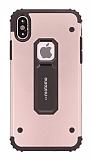 Motomo iPhone X / XS Ultra Koruma Rose Gold Kılıf