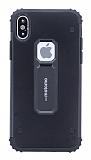 Motomo iPhone X / XS Ultra Koruma Siyah Kılıf