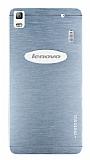 Motomo Lenovo A7000 Metal Silver Rubber K�l�f