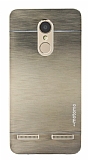 Motomo Lenovo K6 Metal Gold Rubber Kılıf