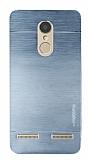 Motomo Lenovo K6 Metal Silver Rubber Kılıf