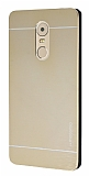 Motomo Lenovo K6 Note Metal Gold Rubber Kılıf