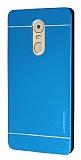 Motomo Lenovo K6 Note Metal Mavi Rubber Kılıf