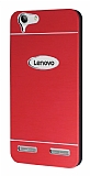 Motomo Lenovo Vibe K5 Metal Kırmızı Rubber Kılıf