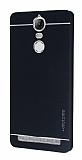 Motomo Lenovo Vibe K5 Note Metal Siyah Rubber Kılıf