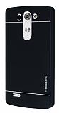 Motomo LG G3 Beat Metal Siyah Rubber Kılıf