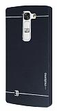 Motomo LG G4c Metal Siyah Rubber Kılıf