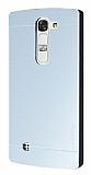 Motomo LG G4c Metal Silver Rubber Kılıf