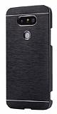 Motomo LG G5 Metal Siyah Rubber Kılıf