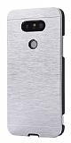 Motomo LG G5 Metal Silver Rubber Kılıf