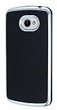 Motomo LG K5 Silver Kenarl� Siyah Silikon K�l�f