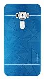 Motomo Prizma Asus ZenFone 3 ZE552KL Metal Mavi Rubber Kılıf