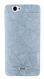 Motomo Prizma Casper Via V5 Metal Silver Rubber Kılıf