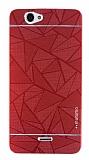 Motomo Prizma Casper Via V5 Metal Kırmızı Rubber Kılıf
