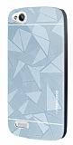 Motomo Prizma General Mobile Discovery Metal Silver Rubber Kılıf