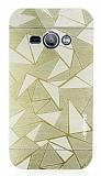 Motomo Prizma Samsung Galaxy J1 Ace Metal Gold Rubber Kılıf