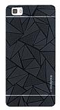 Motomo Prizma Huawei P8 Lite Metal Siyah Rubber Kılıf