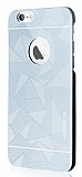 Motomo Prizma iPhone 6 Plus / 6S Plus Metal Silver Rubber K�l�f