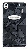 Motomo Prizma Lenovo A7000 Metal Siyah Rubber Kılıf