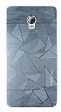 Motomo Prizma Lenovo Vibe P1 Metal Silver Rubber Kılıf