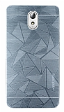 Motomo Prizma Lenovo Vibe P1m Metal Silver Rubber Kılıf