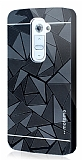 Motomo Prizma LG G2 Metal Rubber Siyah K�l�f