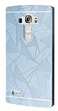 Motomo Prizma LG G4 Beat Metal Silver Rubber Kılıf