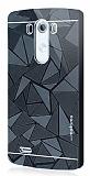 Motomo Prizma LG G3 Metal Rubber Siyah K�l�f
