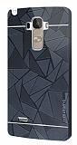 Motomo Prizma LG G4 Stylus Metal Siyah Rubber Kılıf