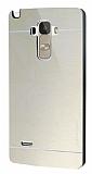 Motomo Prizma LG G4 Stylus Metal Gold Rubber K�l�f