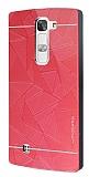 Motomo Prizma LG G4c Metal K�rm�z� Rubber K�l�f