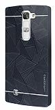 Motomo Prizma LG G4c Metal Siyah Rubber Kılıf