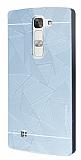 Motomo Prizma LG G4c Metal Silver Rubber Kılıf