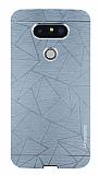 Motomo Prizma LG G5 Metal Silver Rubber Kılıf