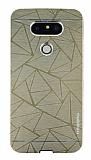 Motomo Prizma LG G5 Metal Gold Rubber Kılıf