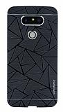 Motomo Prizma LG G5 Metal Siyah Rubber Kılıf
