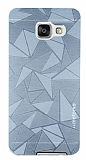 Motomo Prizma Samsung Galaxy A3 2016 Metal Silver Rubber Kılıf