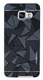 Motomo Prizma Samsung Galaxy A3 2016 Metal Siyah Rubber Kılıf