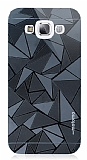 Motomo Prizma Samsung Galaxy E5 Metal Siyah Rubber Kılıf