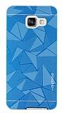 Motomo Prizma Samsung Galaxy A5 2016 Metal Mavi Rubber Kılıf