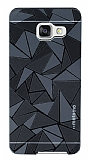 Motomo Prizma Samsung Galaxy A5 2016 Metal Siyah Rubber Kılıf