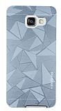 Motomo Prizma Samsung Galaxy A7 2016 Metal Silver Rubber Kılıf