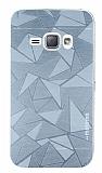 Motomo Prizma Samsung Galaxy J1 2016 Metal Silver Rubber Kılıf