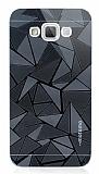 Motomo Prizma Samsung Galaxy Grand Max Metal Siyah Rubber Kılıf