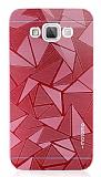 Motomo Prizma Samsung Galaxy Grand Max Metal Kırmızı Rubber Kılıf