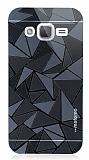 Motomo Prizma Samsung Galaxy J2 Metal Siyah Rubber Kılıf