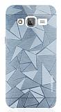 Motomo Prizma Samsung Galaxy J3 2016 Metal Silver Rubber Kılıf