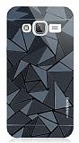 Motomo Prizma Samsung Galaxy J3 2016 Metal Siyah Rubber Kılıf