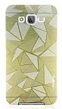Motomo Prizma Samsung Galaxy J7 / Galaxy J7 Core Metal Gold Rubber Kılıf